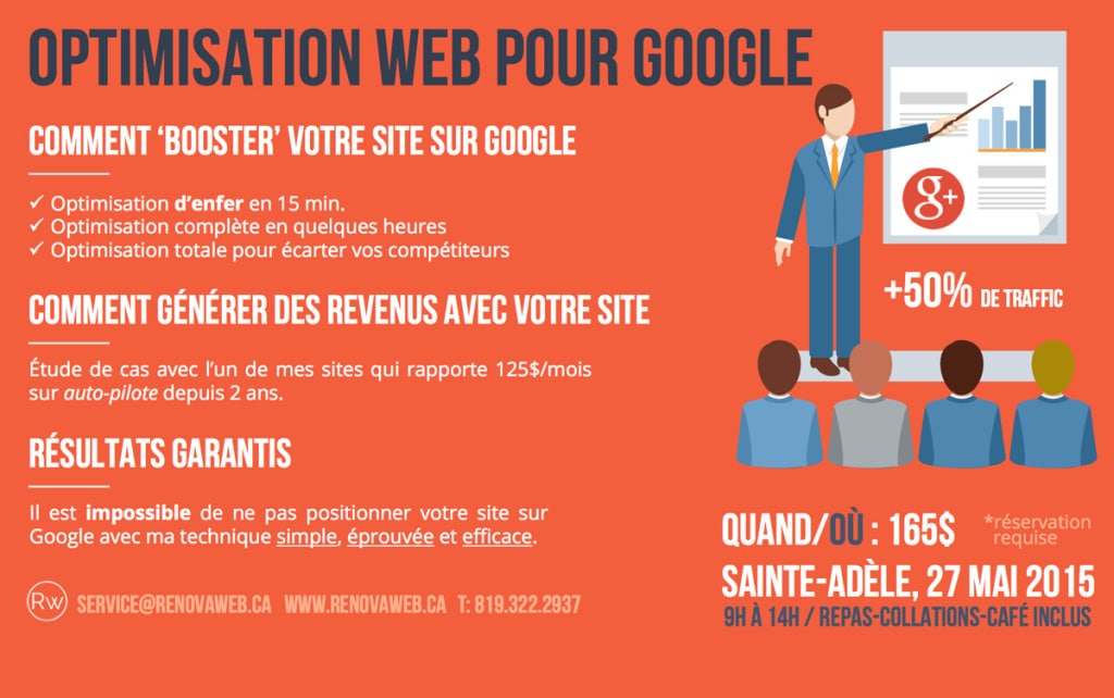 Booster son site sur Google – Formation SEO